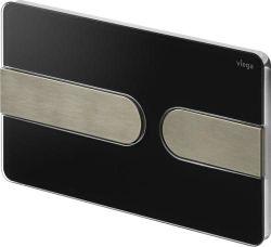 Clapeta de actionare Prevista Visign for Style 23 neagra/inox