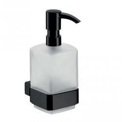 Loft Black Dozator pentru sapun lichid, suspendat, negru
