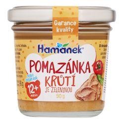 Пюре Hamanek индейка с овощами с 12 месяцев, 90г