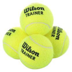 Мяч для большого тенниса (1 шт.) WILSON TRAINER TBAL WRT131100 (1053)