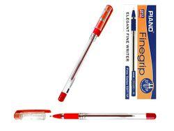 Ручка шариковая PT-111 soft ink 0.7mm, красная