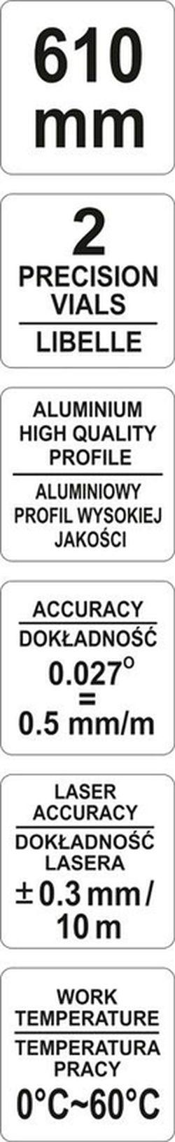 Уклономер Yato YT-30400