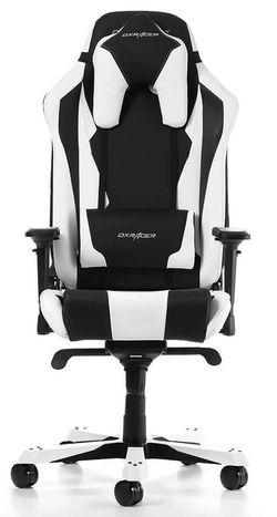 купить Gaming кресло DXRacer Sentinel GC-S28-NW-J4, Black/White в Кишинёве