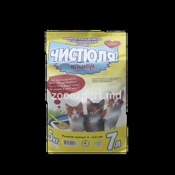Наполнитель для кошачьего туалета Чистюля Юниор 5 kg