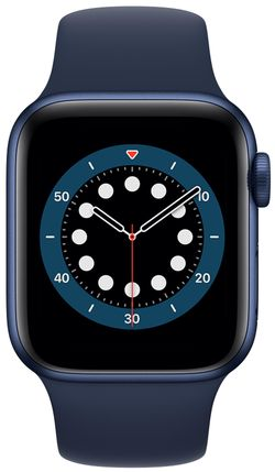 cumpără Ceas inteligent Apple Apple Watch Series 6 40mm Blue/Deep Navy Sport Band (MG143) în Chișinău