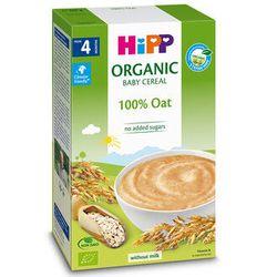 Terci organic Hipp din ovăz fără lapte (4+ luni), 200 gr.