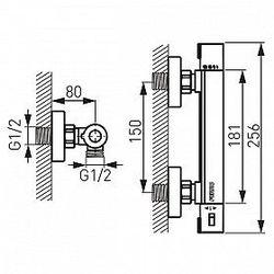 Смеситель termostatica Ferro TRM7 (для душа)