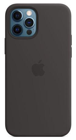 купить Чехол для смартфона Helmet iPhone 12 PRO Black Liquid Silicone Case в Кишинёве