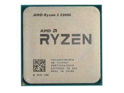 APU AMD Ryzen 3 PRO 2200G (3.5-3.7GHz, 4C/4T,L2 2MB,L3 4MB,14nm, Vega 8 Graphics, 65W), AM4, Tray