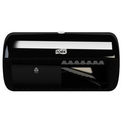 Tork диспенсер для туалетной бумаги в стандартных рулонах(T4), 158*286*153, Черный