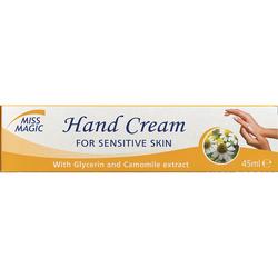 Крем для рук, SOLVEX Miss Magic, 45 мл., для чувствительной кожи, с глицерином и экстрактом ромашки