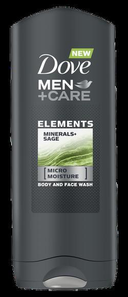 Гель для душа Dove Men Care Minerals+Sage, 250 мл