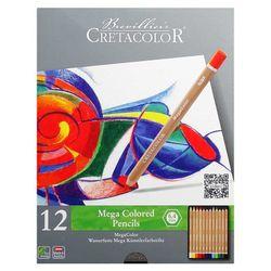 Набор цветных карандашей 12 шт. Megacolor  Cretacolor