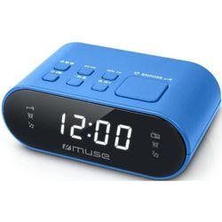 купить Часы-будильник MUSE M-10 BLUE в Кишинёве