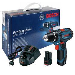 Аккумуляторный шуруповерт Bosch GSR 10.8-2-LI
