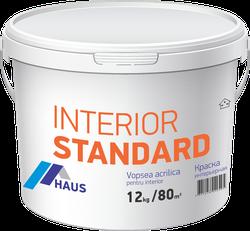 Краска водоэмульсионная интерьерная Haus Standard 6 кг