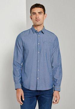 Рубашка TOM TAILOR Светло синий 1021133 tom tailor