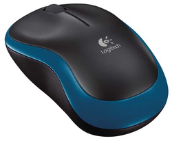 Wireless Mouse Logitech M185, Blue