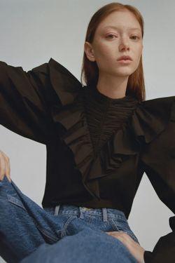 Блуза ZARA Чёрный 6929/003/800 zara