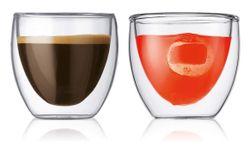 cumpără Pahar Bodum 455710 Pavina 2 pcs glass, 80ml în Chișinău