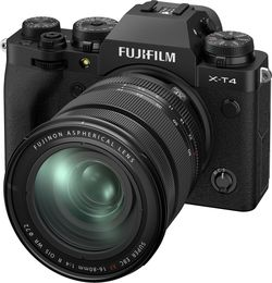cumpără Aparat foto mirrorless FujiFilm X-T4 black/XF16-80mm Kit în Chișinău