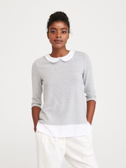 Блуза RESERVED Серый xg680-09m