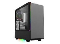 Корпус ATX GAMEMAX Panda T802, вентилятор 1x120mm ARGB, светодиодные ленты 3xARGB, PWM / Rainbow HUB, USB3.0, TG, черный