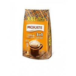 Кофе Mokate 3 в 1 Brown Sugar 24*17гр с тростниковым сахаром