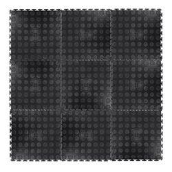 Коврик защитный (9 шт.) 0.6 см, 33x33 мм Avero 20646 (3439) inSPORTline