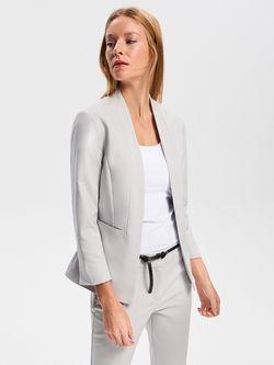 Пиджак RESERVED Светло-серый vb700-09x