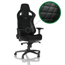 Gaming Chair Noble Epic NBL-PU-GRN-002 Black/Green