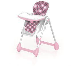Детский стульчик с регулируемой высотой, розовый, код 41518