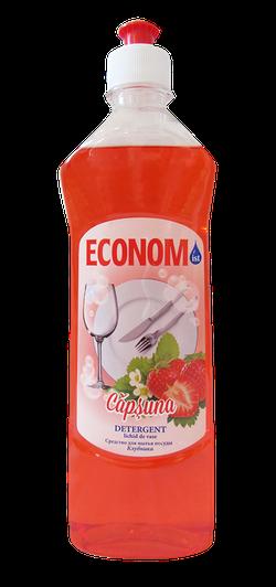 Detergent pentru de vase ECONOM căpșună 500ml