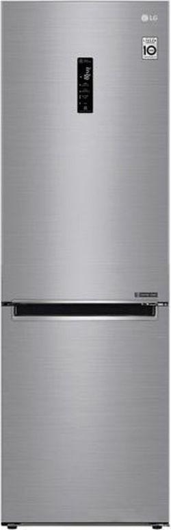 Холодильник с нижней морозильной камерой LG GA-B459MMQZ, 341л, 186см, A++