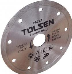 Диск алмазный сплошной 180*22.2mm Tolsen