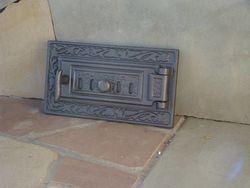 Дверца чугунная глухая правая DPK6R