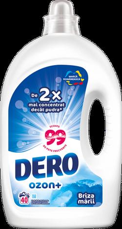 Жидкое моющее средство Dero Озон+ Морской бриз, 2л.