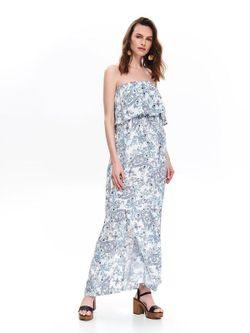 Платье TOP SECRET Белый/синий