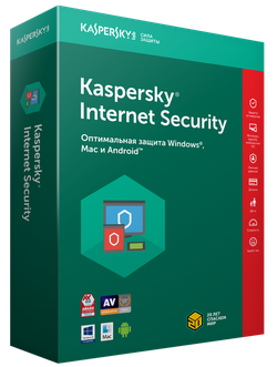 Kaspersky Internet Security Multi-Device 2 Device Box 1 year Base