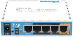 Router wireless MikroTik hAP (RB951Ui-2nD)