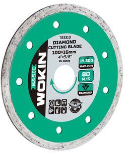 Диск алмазный сплошной 125*22.2MM Wokin