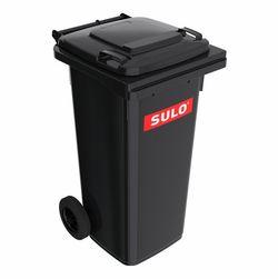 120L, Двухколёсный контейнер SULO MGB, Черный
