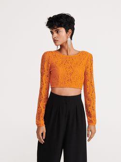 Блуза RESERVED Оранжевый wt054-18x