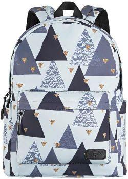 cumpără Rucsac laptop 2Е 2E-BPT6114WT TeensPack Triangles, White în Chișinău
