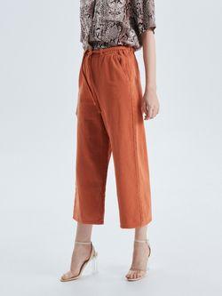 Pantaloni CROPP Maro deschis vw380-83j