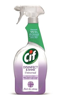 Spray dezinfectant Cif Universal Flori de câmp, 750 ml
