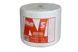 Бумажные полотенца 510м рулон, 2 слоя, белые