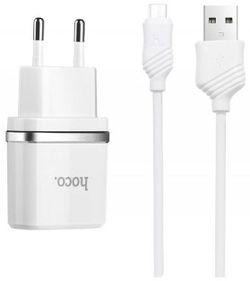 Încărcător Hoco C12 +Micro cable