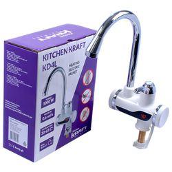 Robinet electric pentru incalzit apa 3Kw Kitchen Kraft KD4L