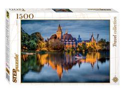 """Mozaic """"puzzle"""" 1500 """"Castelul lângă lac"""", cod 40788"""